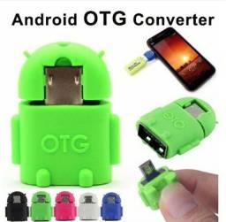 Adaptador Otg micro USB para Android