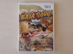 Jogo Wii Baja 1000 game carros sport terra dvd original videogame