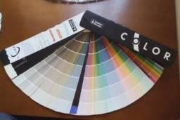 Vendo leque de cores