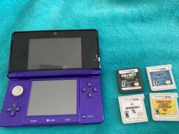 Nintendo 3DS roxo