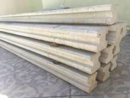 11 pilares de concreto