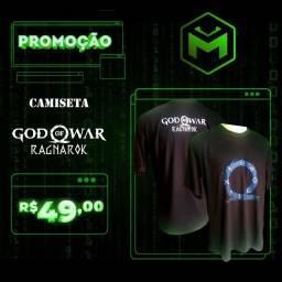 Camiseta God Of War Ragnarok