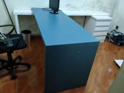 Vendo mesa de escritório planejada mdf