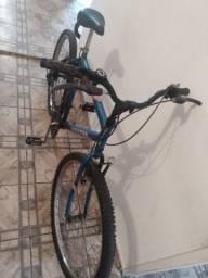 Bicicleta adulto aro 26 com marchas usada em ótimo estado