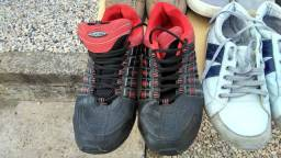 Sapatos e tênis masculino (leia a descrição)