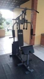 Estação De Musculação Aparelho Ginástica Com 80kg FITT10