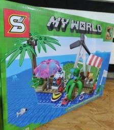 Lego minecraft miniblocks my World 154 Peças