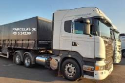 Título do anúncio: Scania r480 Steamline 2017 6x4 com carreta bitrem 7 eixos e contrato de serviço