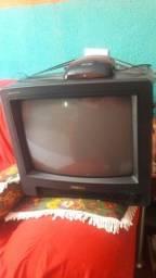 TV barata com aparelho de antena funcionando 70 reais