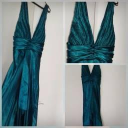 Promoção! Vestido de festa / Vestido de madrinha - cor Verde