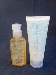 Kit Óleo + Hidratante com ácido hialurônico