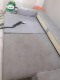 Limpeza né higienização de estofados