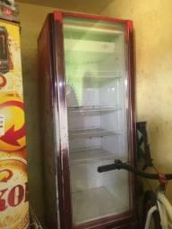 Geladeira Coca-Cola de vidro