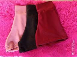 Shorts crep alfaiataria