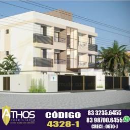 ?Mangabeira?  73,9m²  Apartamento Térreo com Área Privativa!