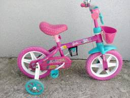 Bicicleta Menina Barbie Caloi Aro 12