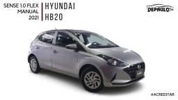 Hyundai HB20 SENSE 1.0 manual 2021