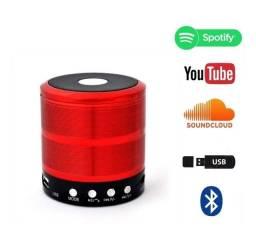 Caixa De Som Portátil Speaker WS887