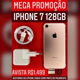 MEGA PROMOÇÃO 7 128GB ROSE VITRINE