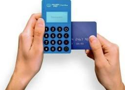 Maquininha de cartão Mercado Pago Me30s NFC lançamento Visor luminoso