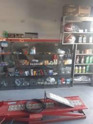 Oficina de moto completa equipamentos tudo novo