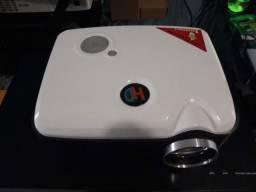 Projetor Led Hd 1280x800 imagem Top 2 Hdmi Wifi Vga Usb Cartao de Memória Parcelo Garantia