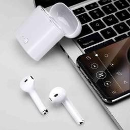 Incrível Fone i7s Bluetooth! Receba hoje na porta da sua residência