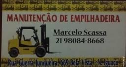 MANUTENÇÃO DE EMPILHADEIRA