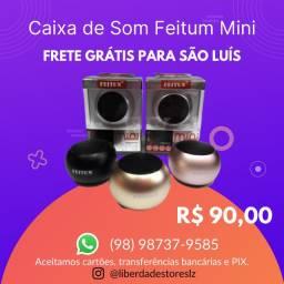 Caixinha de Som Feitum Mini Speaker