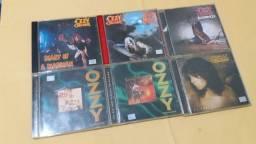 Coleção 6 cd's Ozzy Osbourne