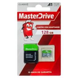 Cartão de Memória 128GB Original MasterDrive 10 Anos de Garantia
