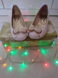 Sapato de festa SEMI-NOVO
