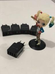 ?PROMOÇÃO Carregador Tomada fonte USB Turbo 4 Portas Carregador Plug Quick Charge 3.0?