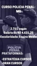 Curso Polícial Penal MG