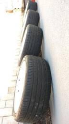 Rodas 18 Santorine com pneus