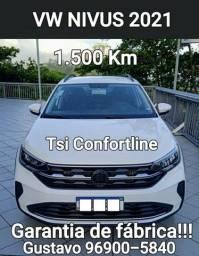 Vw  NIVUS Tsi Confortline 1.500 Km 2021