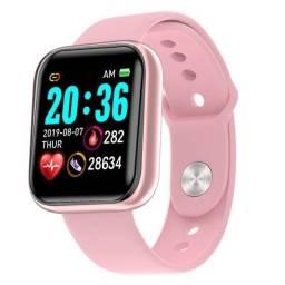 Y68 D20 Relógio Smart Watch com Bluetooth USB com Monitor Cardíaco