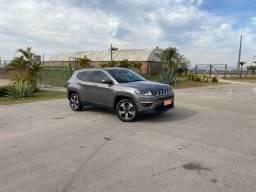 Jeep Compass longitude 2018 único dono todas revisões ok  Pego carro ou moto na troca