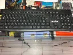 Teclado sem fio com mouse sem fio Weibo