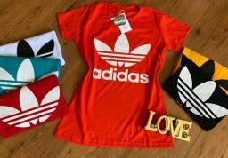 Camisa feminina vários modelos e cores