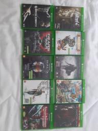 Vendo Kit com Jogos de Xbox One