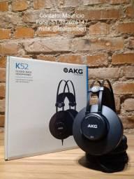 Fone de ouvido AKG modelo K52