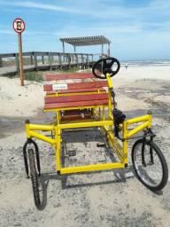 Bicicleta de Praia p/04 Ocupantes