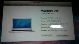 Macbook air mini 11 polegadas/12 processador i5