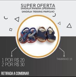 Título do anúncio: Mega Saldão de sapatos Infantis masculino