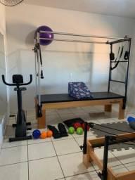 Equipamentos e acessórios para studio de pilates