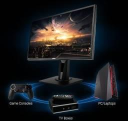 Monitor Gamer da Asus top pouco tempo de uso excelente para consoles