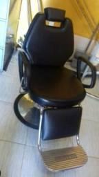 cadeira cabeleireiro e barbeiro