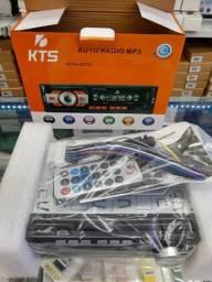 Som Automotivo Knup Kp-c23bh Com Bluetooth E Controle