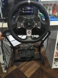 Volante Logitech G920 + Cockpit (PC e XBOX)